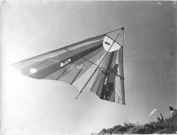 No-nose hang glider - 1977