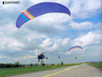 Air-Xtreme towing Paraglider